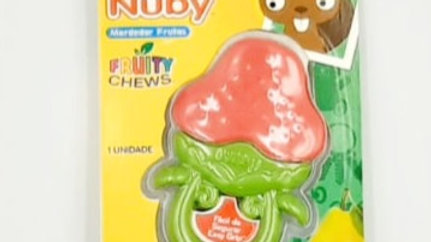 Mordedor frutinhas Nuby