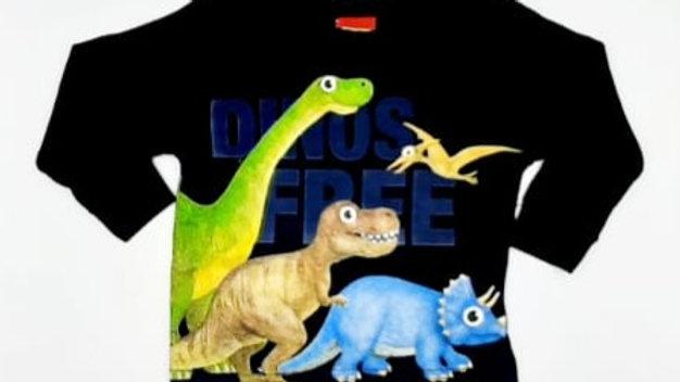 Camiseta masculina azul marinho G Kyly