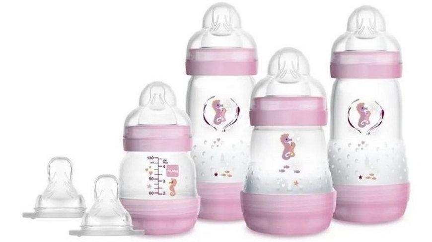 Mamadeiras Easy Start - Rosa - Gift Set - MAM