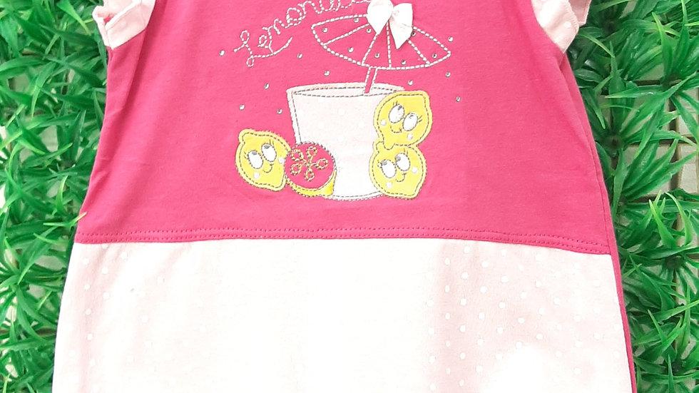 Macacão curto limonada Presente de Anjo