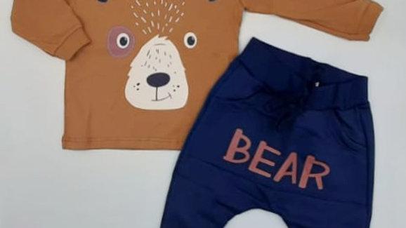 Conjunto camiseta/calça P Kiko
