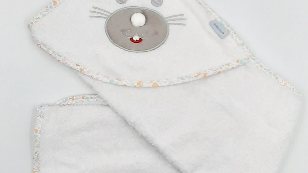 Toalha com capuz de canto Baby Joy Premium