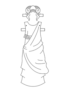 Paper Doll Greek Chiton