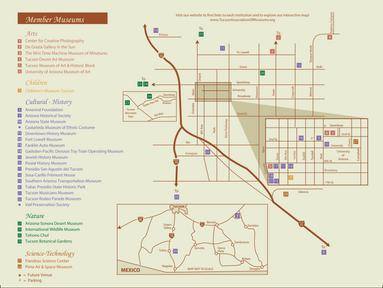 Tucson Association of Museums 2017 Brochure Interior