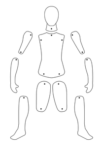 Paper Doll Master Template