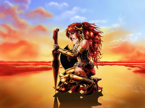 Wonder Woman Pyrrha
