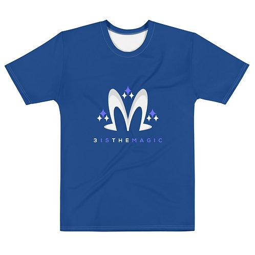 Premium Blue 3 Logo Tee