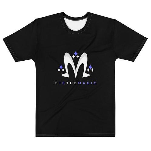 Premium Black 3 Logo Tee