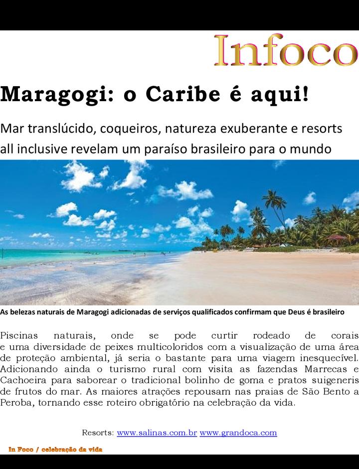 O Caribe em Maragogi
