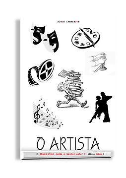 capa o artista  ed 3 vol 1 ebook kindle