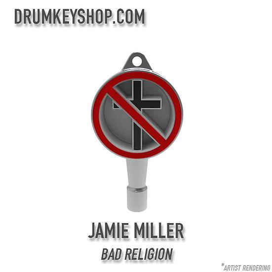 Jamie Miller from Bad Religion Signature Drum Key