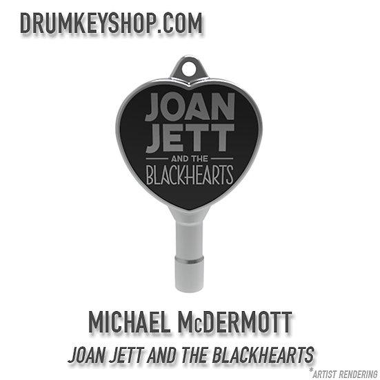Michael McDermott of Joan Jett and the Blackhearts Signature Drum Key