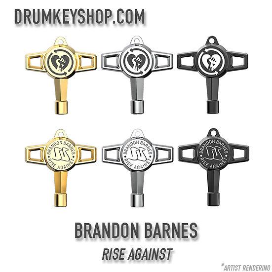 Pre-Order!! Brandon Barnes from Rise Against Signature Drum Key