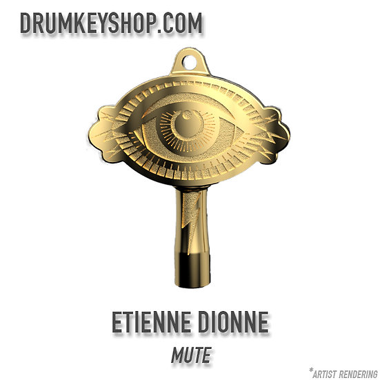 Etienne Dionne from MUTE Signature Drum Key