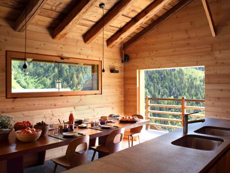 Unique hotel concept in a tiny Swiss village