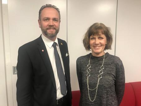 PM: Anna-Lena Holberg och Henrik Ripa valda till tunga ordförandeposter i Västra Götaland