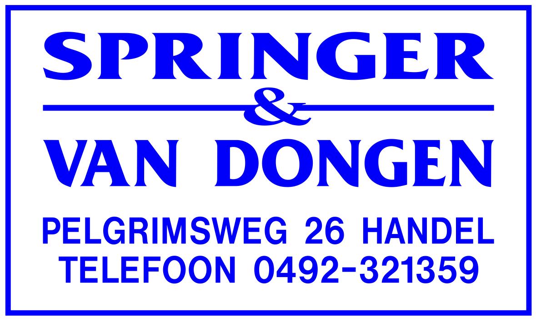 SPRINGER & VAN DONGEN