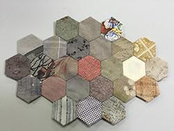 hexagon quilt パッチワーク教室