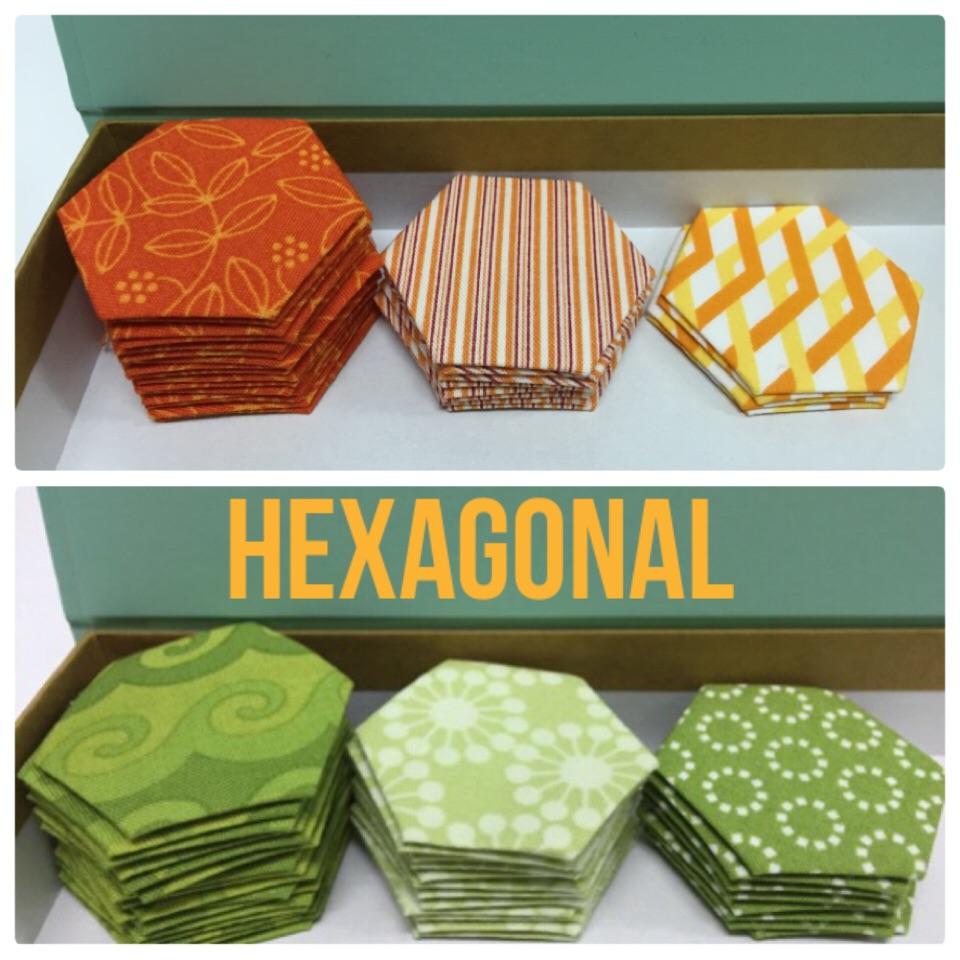 ヘキサゴンキルトhexagon quilt