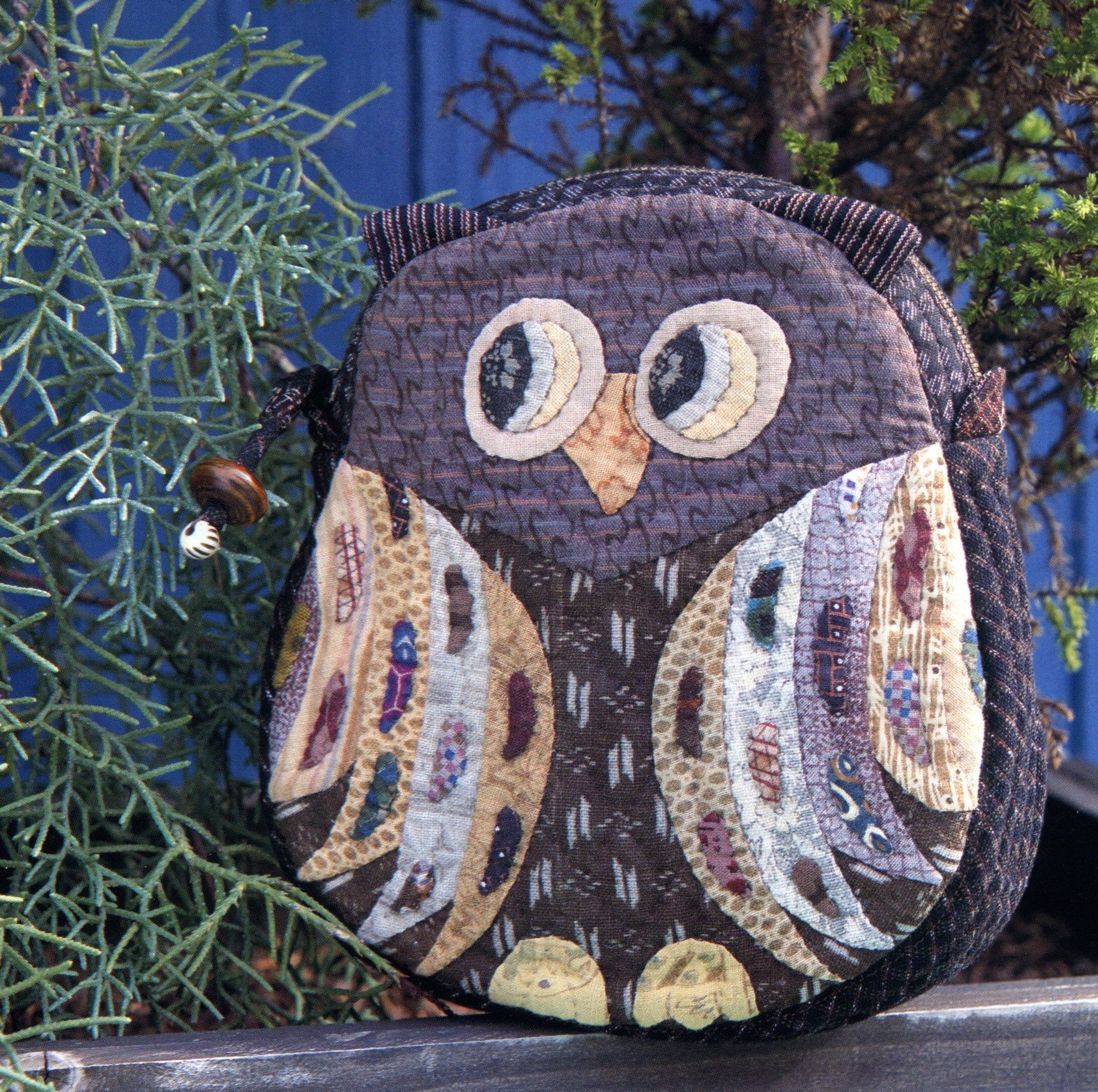 Horned owl Pouch