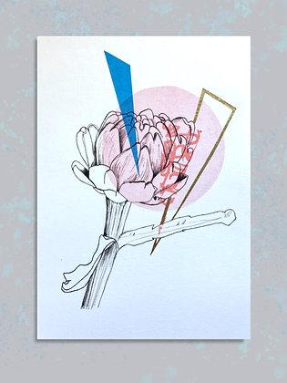 Artichoke: Embellished Print A4