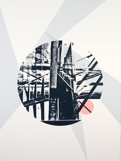 Architectural Fragment III: Limited Edition Screenprint