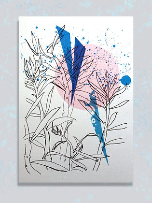 Succulent: A4 Embellished Print