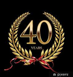 fotobehang-40-jaar-jubileum-gouden-lauwe