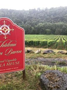 Het verslag van Château Bon Baron is online
