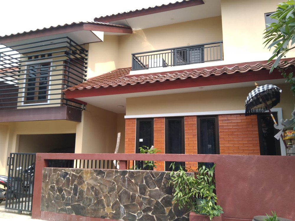 Desain Fasade Depan Renovasi Rumah Satya