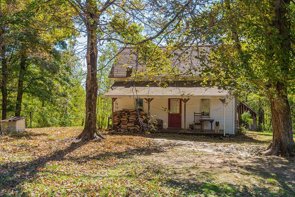 The house at Resurrection Mule Farm