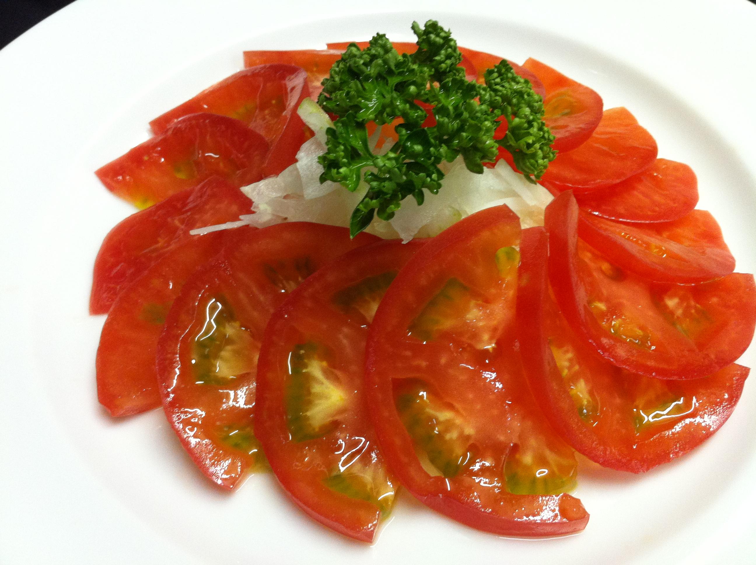 トマトサラダ¥750