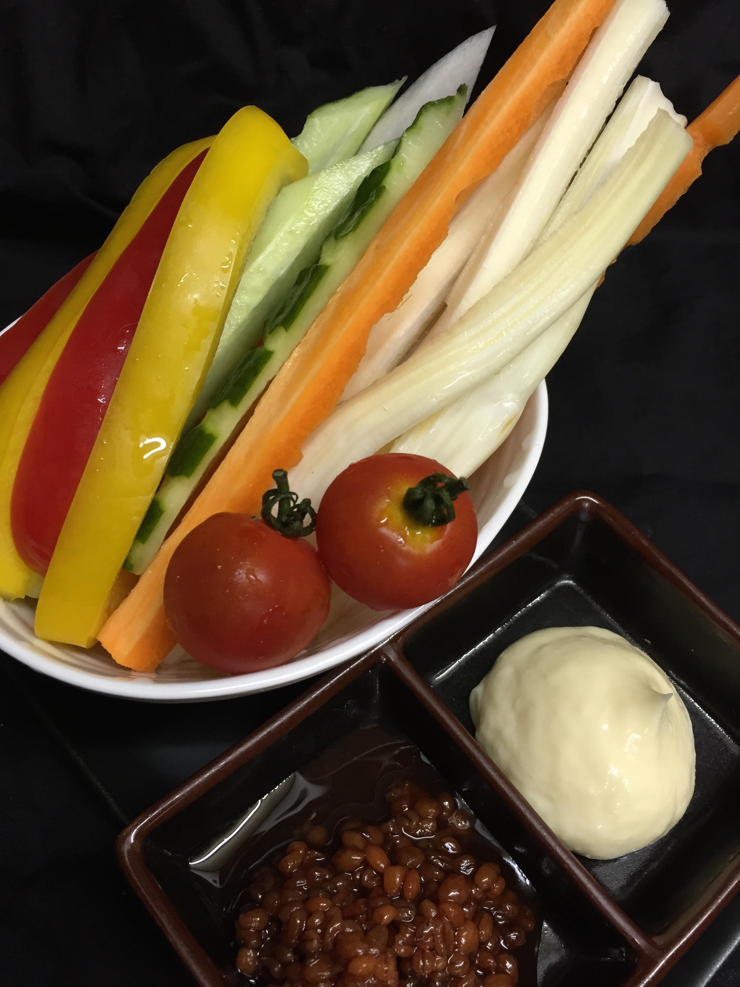 野菜スティック¥900