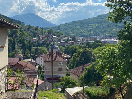 """Fieldwork in Foča, the """"emerald"""" of Eastern Bosnia"""