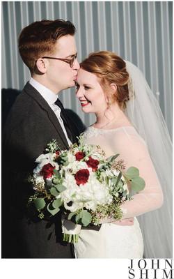 Bride's Hair & Makeup done by Amanda