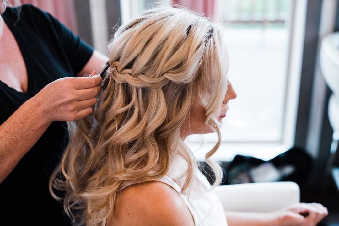 Working waterfall braid