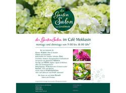 Gartensalon Logo und Web