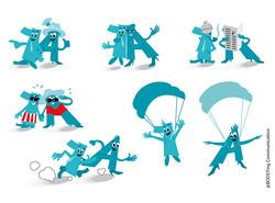 Illustrationen 1A Pharma