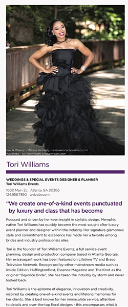 Tori Williams for The Atlantan