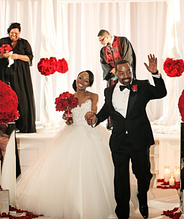 Feature on Tori Williams' Wedding in