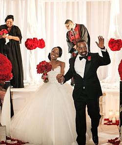 Feature on Tori Williams' Wedding in