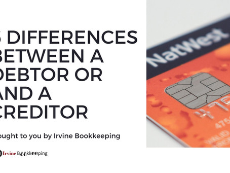 6 differences between Debtor and Creditor