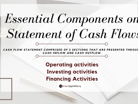 Essential Components on Statement of Cash Flows