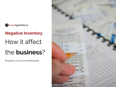 What Cause Negative Inventory - How Can It Affect The Business?