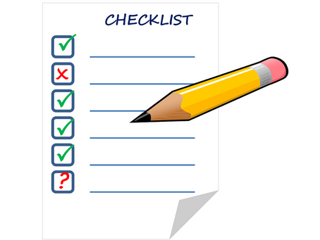 BOOKKEEPING CHECKLIST FOR SMALL BUSINESS
