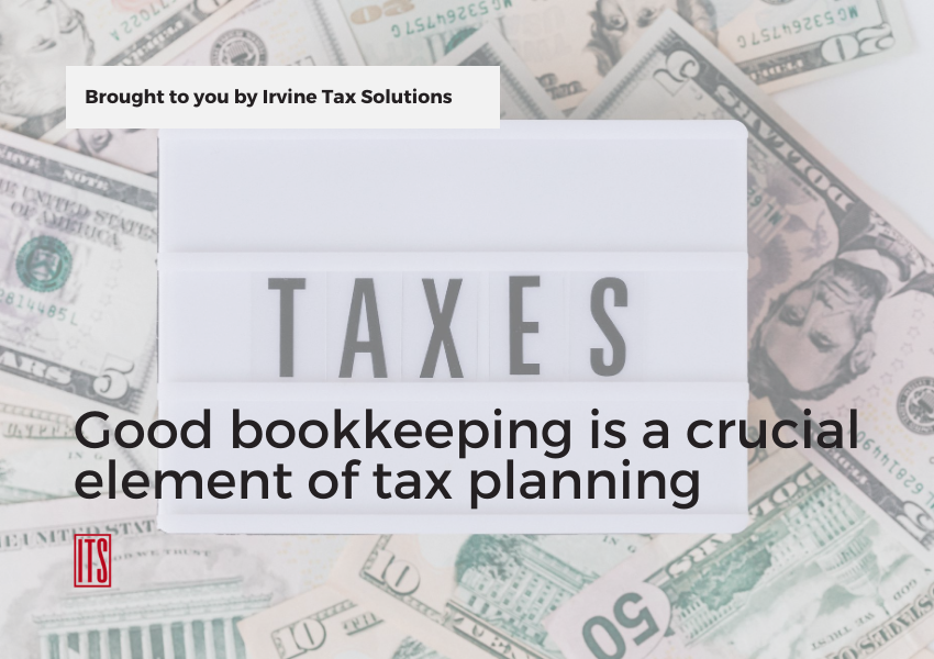 tax planning bookkeeping