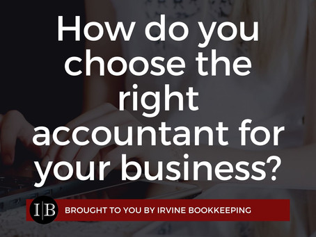 How do you choose the right accountant for your business?