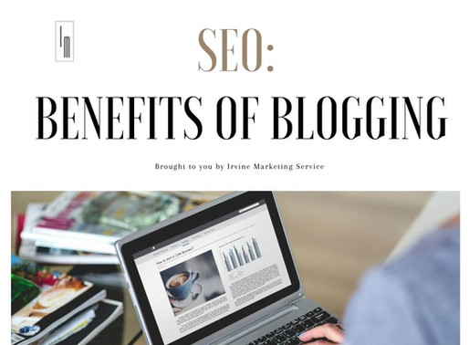 SEO: Benefits of Blogging