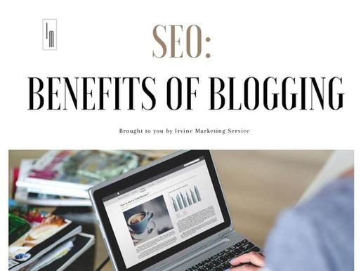SEO: Benefits of Blogging