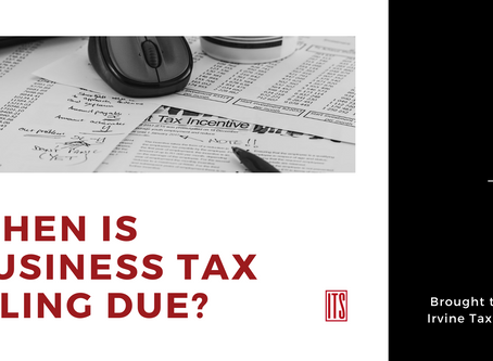 When Is Business Tax Filing Due?